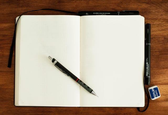 ボールペン字のコツ